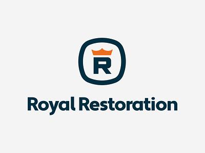 Royal Restoration Rebranding restoration rebrand branding and identity logodesign logo designer branding design branding agency graphic design corporate identity logos logo brand identity design brand identity logo design rebranding branding