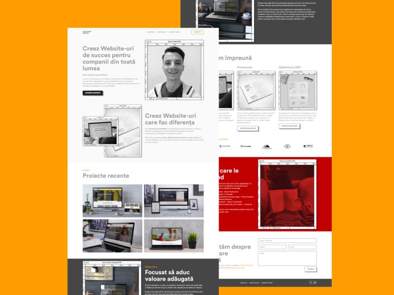 Freelacer Web Designer   mihaisiscanu.com freelancer web designers webdesign design website design web designer portofolio freelance web design web