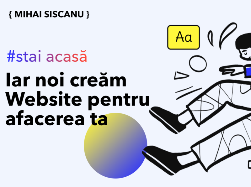 Website Design AD facebook ad illustration website design moldova freelancer free web design
