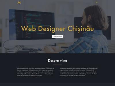 Freelacer Web Designer   mihaisiscanu.com moldova chisinau freelancer design web web designer web design