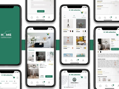 Home Collection / Mobile App