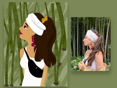 in & out of woods app design app mobile ui mobile inspiration imagination illustrator illustrations illustration art illustration illustraion designs designer design
