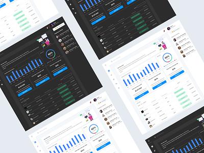 Dishboard Financial Dashboard - Freebies illustraion web design stats finance dashboad design freebies ux illustration ui