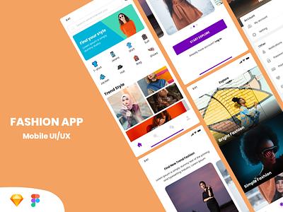 Fashion App - Freebies simple fashion app iphone uiuxdesign ios app design fashion ui ux illustration freebies