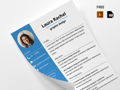 Freebies CV Design