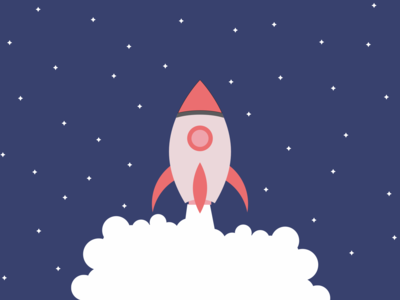 Illustration Rocket - Freebies
