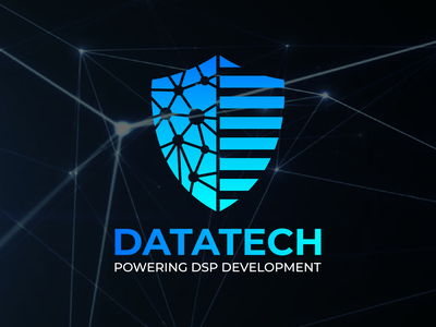 Datatech technology logo industry identity hexagon hardware green factory engineering digital corporate construction colorful color business branding brand architecture application app aplications abstract