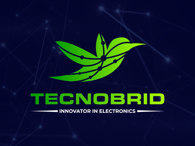 Technobird technology logo spin sound seo professional media marketing life intelligence hurricane gaming entertainment dot digital development consulting consultant circular circle business abstract