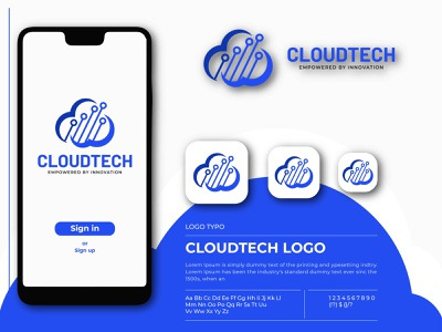 cloud data logo design network net logotype logo internet global emblem e-business download design data creative corporate computing company cloud computing cloud business blue abstract