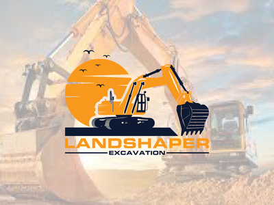 excavation logo vector tractor template sport service repair parts part modern logo templates logo excavator equipment
