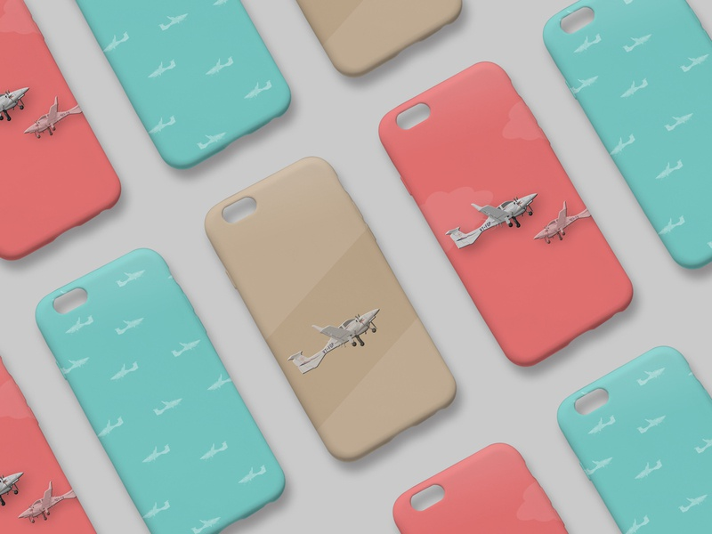 Aircraft Illustrated Phone Cases vector graphic vector graphics vector illustration vector art vector print design print photoshop illustrator illustration art illustration graphic design flat illustration flat digital illustration digital art design art adobe illustrator adobe