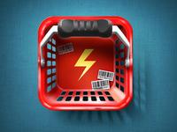 Quicket iOS Icon test 2