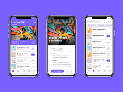 Discover popular events event detail listing tag search events events iphonex