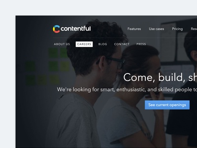 Contentful Careers Page