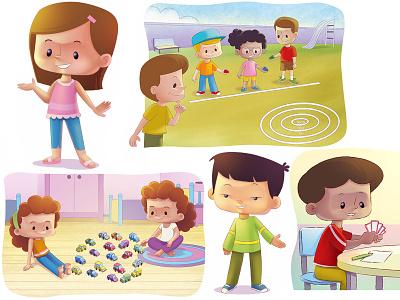 Children's illustrations childrens ilustração illustration