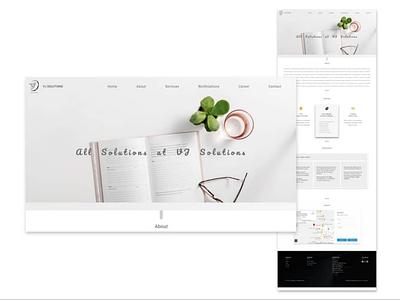 White website white