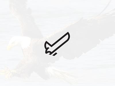 Check Eagle Symbol clean minimalist logo animal logo minimal simple linework line art bird bird logo check logo check eagle logo eagle