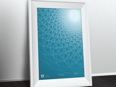 Principle of Design - Repetition principle of design ready to print abstract design abstract art minimal poster design repeating pattern repetition fibonacci poster poster art