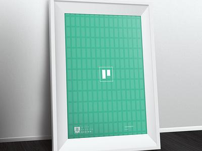 Principle of Design - Pattern principle of design simple minimal geometric art geometric design geometric patterns ready to print poster art poster design poster p letter logo p letter pattern