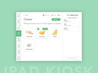 Sub Ordering iPad Kiosk