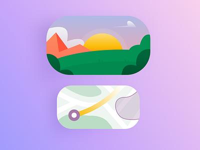 Kamana - Walking tracker app walk app walking clean design app android illustration mobile application iphone app android app app ux ui design