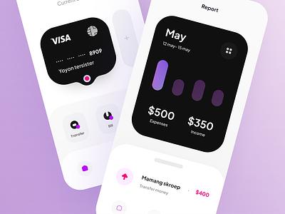 Dompet - Wallet app design banking wallet android design app mobile application iphone app android app app ux ui design