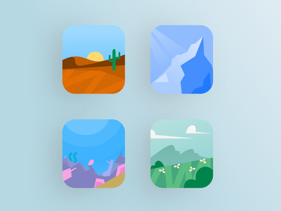 Bit - Digital asset microstock illustration ux app microstock clean mobile android app iphone app application design app