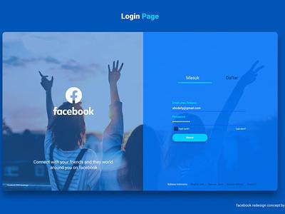 facebookredesign app ui icon typography ux vector branding logo design illustration