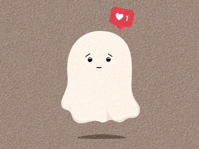 ghost illustration design