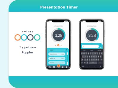 Presentation Timer UI