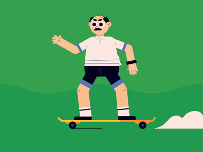 Skateboard Daddy animation skateboard graphics motion skateboards skateboard daddy dad