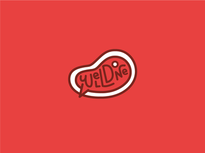 Well-Done logolounge red illustration vector done well steak logo