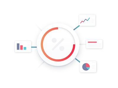 Agile website set illustration