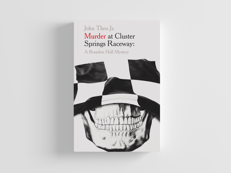 Murder at Cluster Springs Raceway book cover