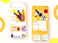 Mall app for wine