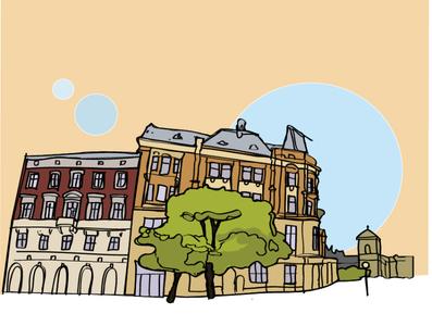 Lviv illustration
