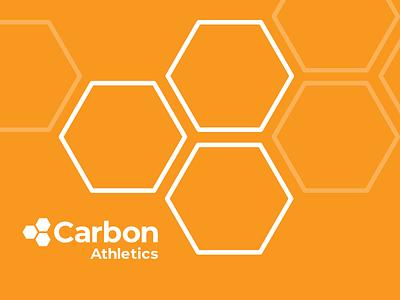 Carbon Athletics Branding and Logo icon illustration typography design logo branding