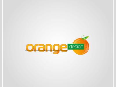 Orange design :) my personal first logo