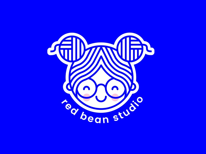Red Bean Studio Logo icon design branding logo