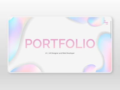 Portfolio Concept web development javascript css html front-end development web design