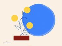Animated dandelion
