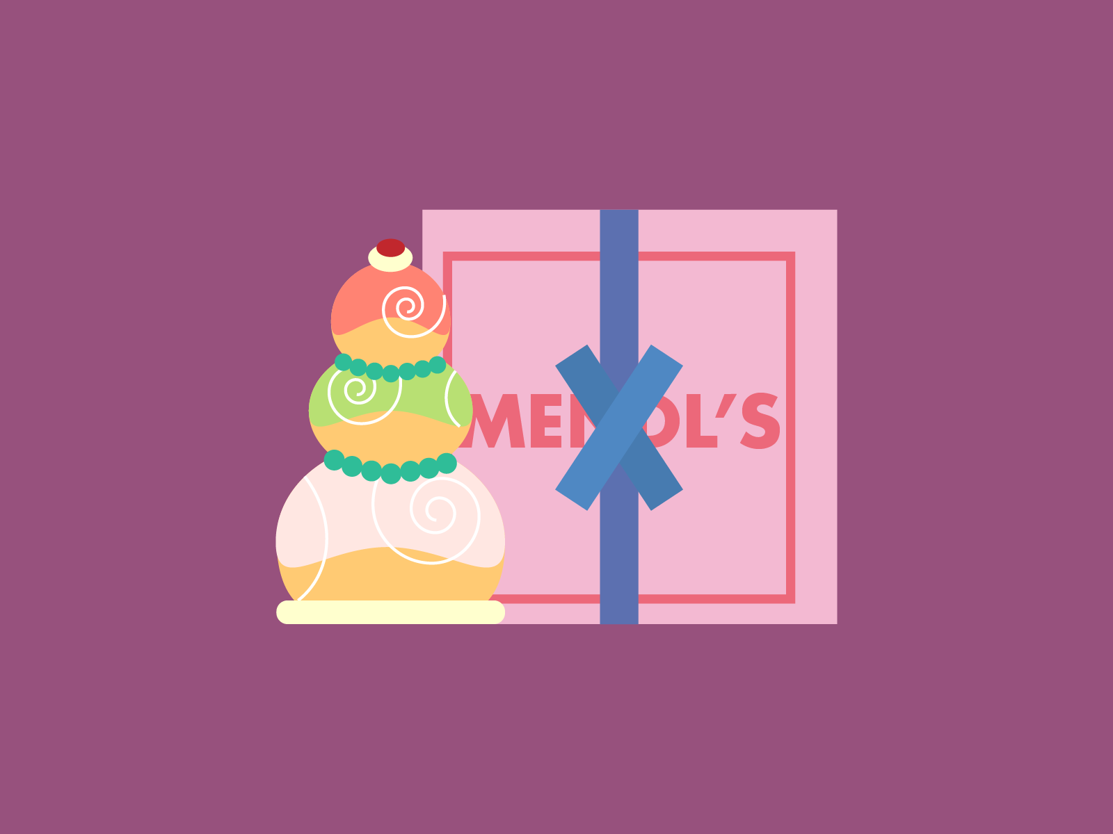 Mendl S Delivery The Grand Budapest Hotel By Martina Sgorbati On Dribbble