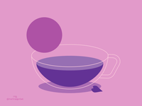 Mallow tea animation