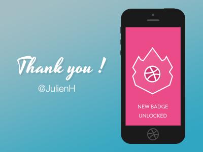 Thank You thanks invite debut henrotte julien