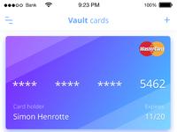 Vault card