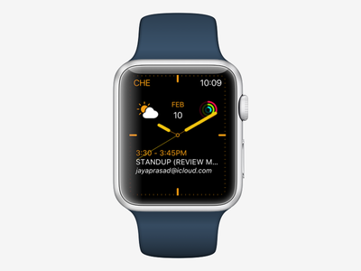 Daily UI 63 activity weather complications time dial smart face watch apple 63 ui daily