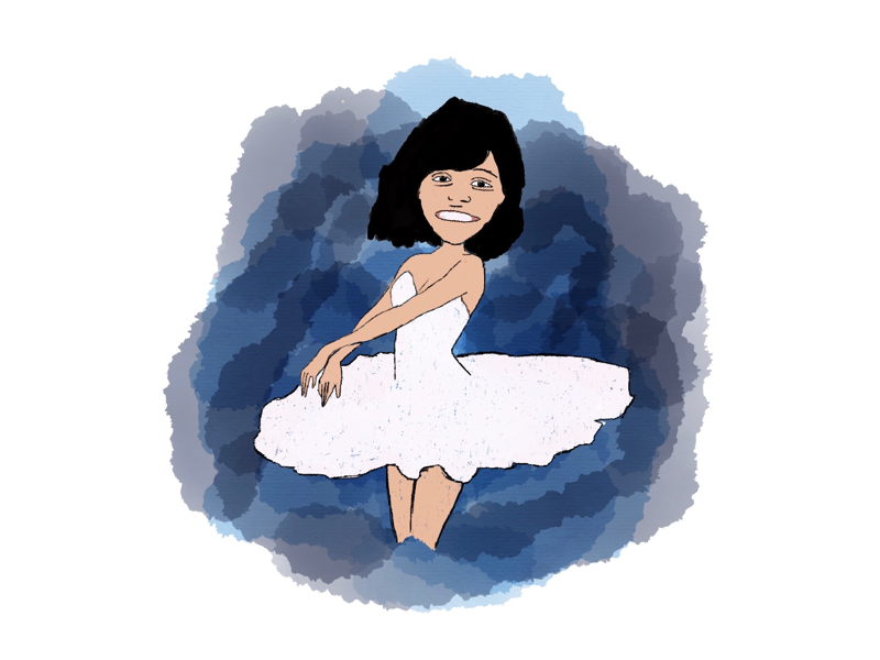 Birthday Gift - Digital Drawing ink ipad illustration art drawing digital gift birthday