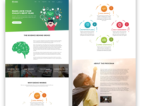 Kids Health Landing Page
