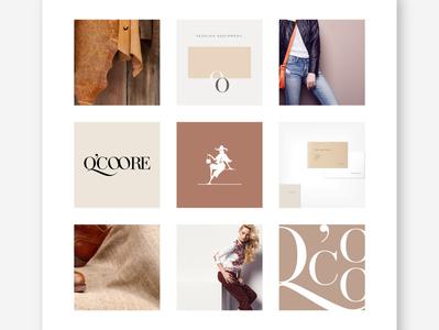 Q'Coore Fashion Accessories key visual concept