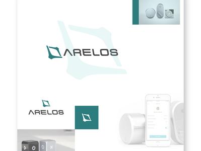Arelos Smart Lock Brand Identity Design